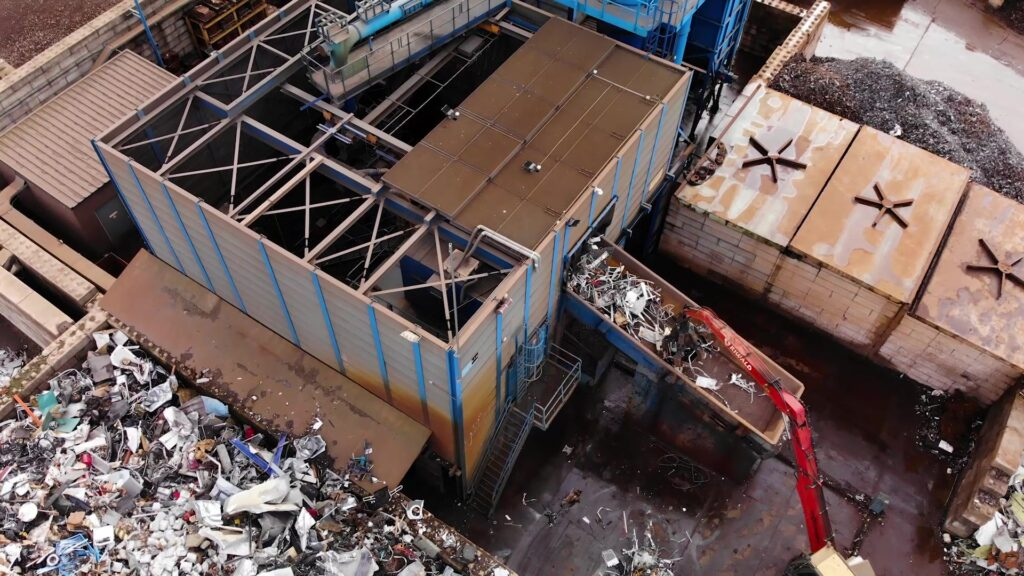 Riwald Recycling hightech circulair verwerker van ferrous en non-ferrous
