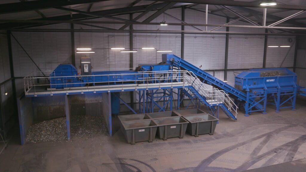 Riwald Recycling hightech en circulair scheiding van ferrous en non-ferrous