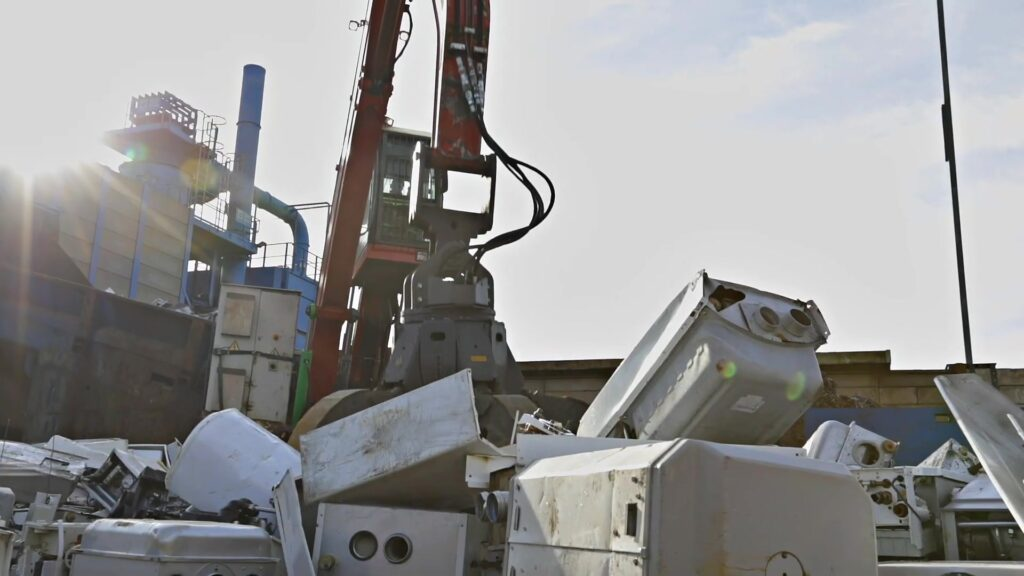 Riwald Recycling recyclingsbedrijf van CV ketels Bosch Nefit