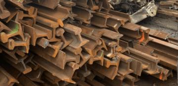 spoor ijzer recycling ferro ferrometaal metaal