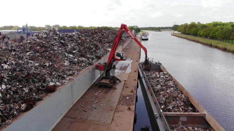 knipijzer ferrometaal ferro metalen recycling