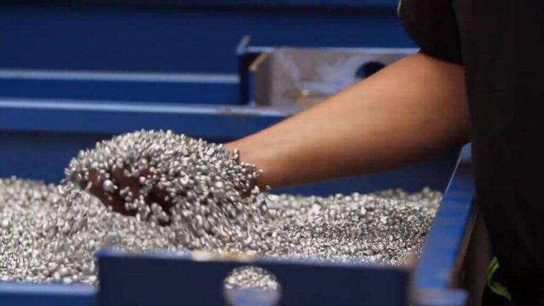 aluminium non ferro metaal nonferrometalen recycling product hbo stagiairs trias energetica