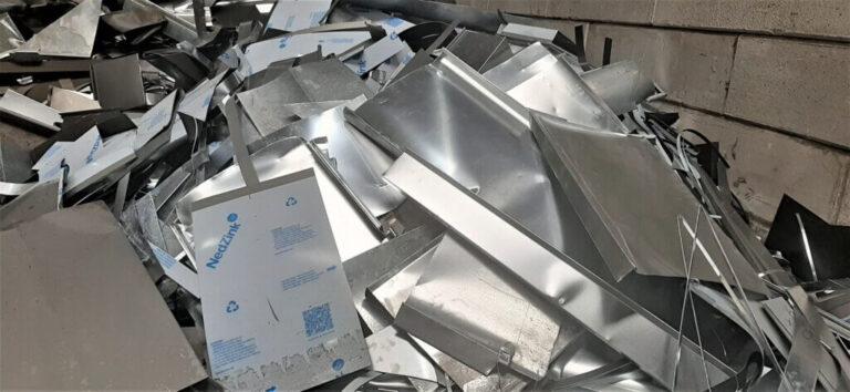 zink non ferro metaal nonferrometalen recycling
