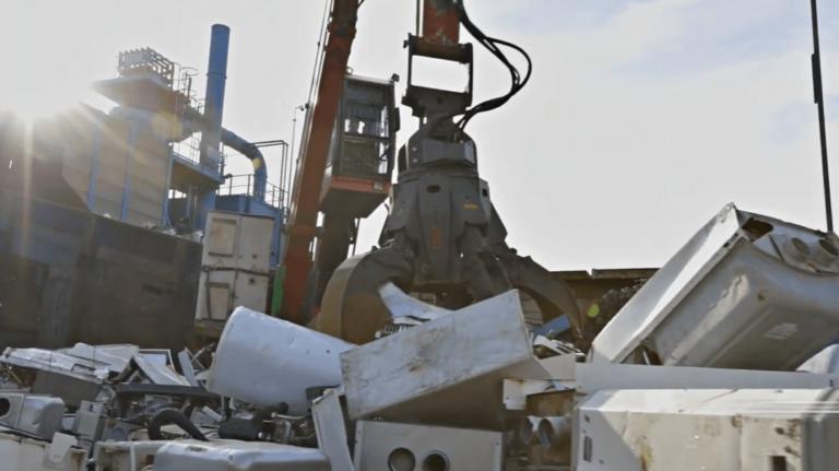 KEI weee ewaste recycling projecten content fotos nefit & bosch samenwerking