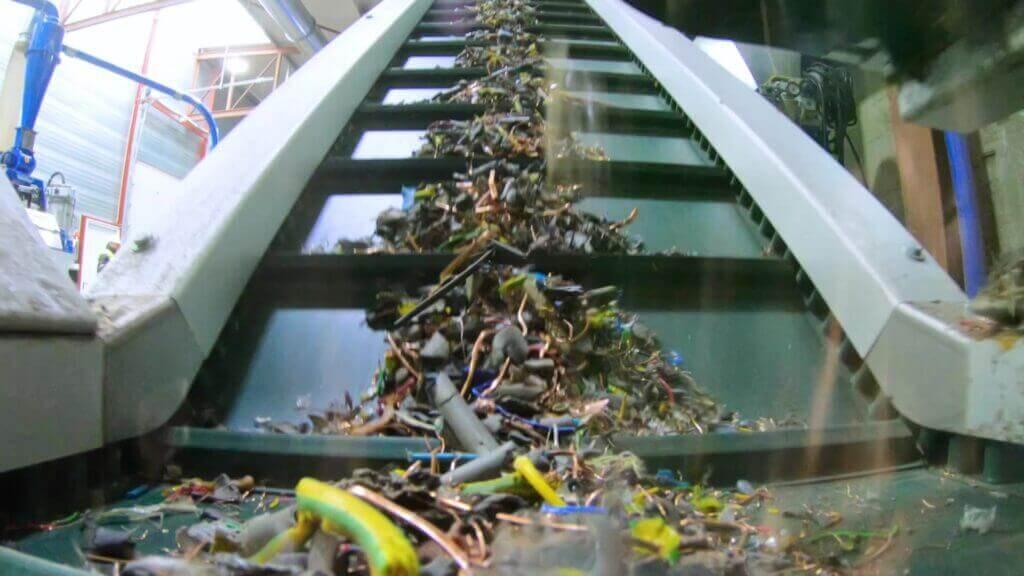 kabel recycling ewaste wee riwald recycling co2 footprint 2020 beverwijk