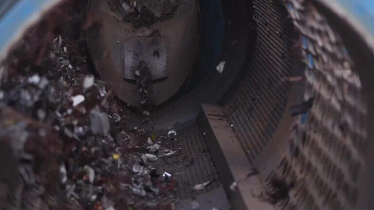 trommelzeef voor de scheiding van ferrous en non-ferrous machinepark