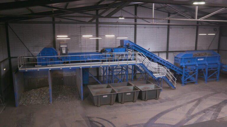 Steindert unisort Riwald Recycling hightech en circulair scheiding van ferrous en non-ferrous