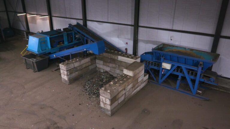 sensor scheiding Riwald Recycling natseparatietagel voor scheiding ferrous en non-ferrous