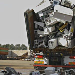 Riwald Recycling als recyclingsbedrijf voor WEEELABEX producten waaronder CV ketels en witgoed apparatuur