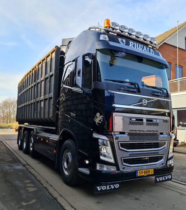 Riwald Recycling duurzaam transport, green en hightech voor ferrous en non ferro metalen