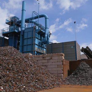 Riwald Recycling higtech granultor voor duurzaam en hightech metaalrecycling