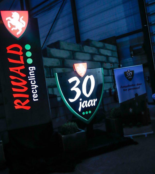 Riwald Recyling opendag en openhuis i.v.m. 30 jaar bestaan