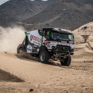 dakar truck race hybride rally