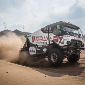 truck dakar riwald recycling hybride picture photo rally
