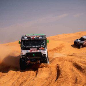 truck dakar foto content hybride wagen rally