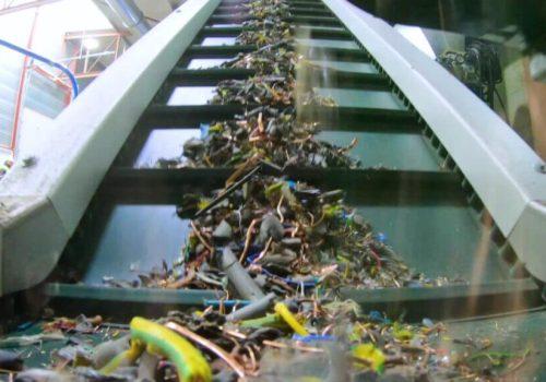 kabels granulator recycling