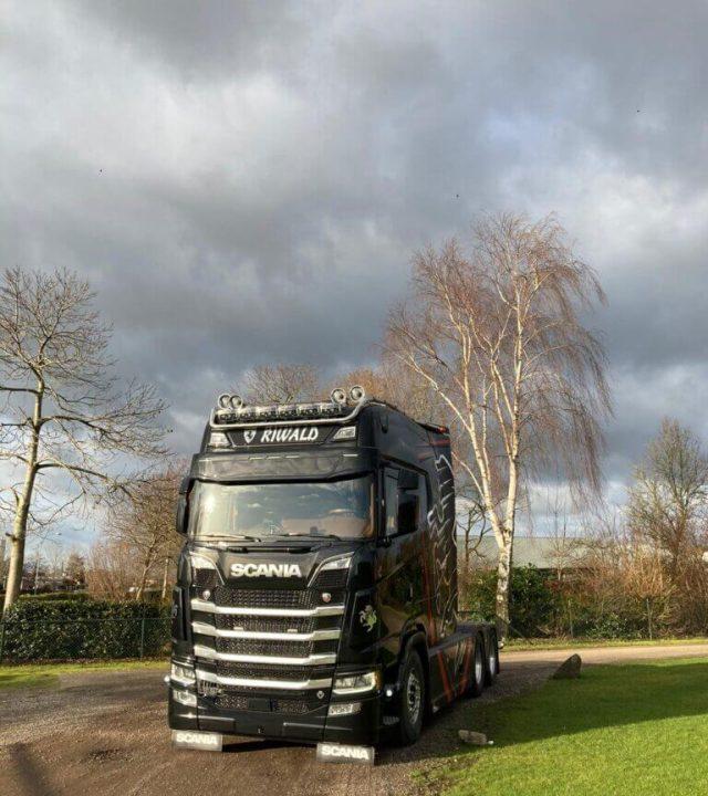 duurzaam transport scania next generation 2021 riwald recycling truck